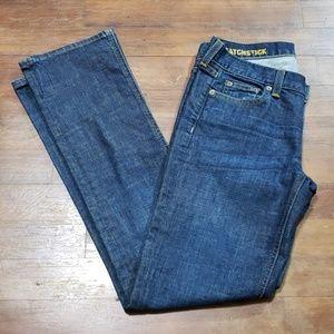 J. Crew Matchstick Jeans Size 28S